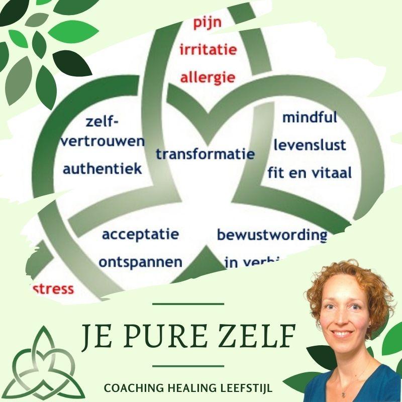 Je Pure Zelf COACHING HEALING LEEFSTIJL ALKMAAR